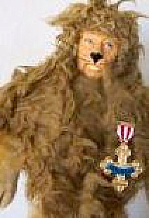 Wizard Of Oz Presents Hamilton Hand Puppet Cowardly Lion 1939 Mgm Turner Entertaiment