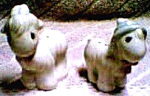 HAMILTON PRECIOUS MOMENTS NOAHS ARK GOATS  S & P 1996 Salt Pepper Noah's Collection (Image1)