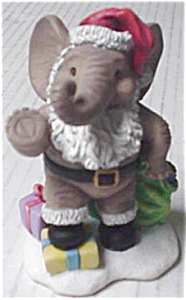 HAVE YOURSELF A MERRY CHRISTMAS HAMILTON PEANUT PALS OF MONTH ELEPHANTS MICHAEL ADAMS (Image1)