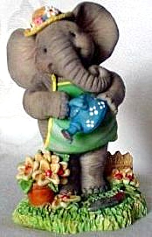May - Spring Is Sprung : Hamilton Peanut Pals Of The Month Elephants By Michael Adams