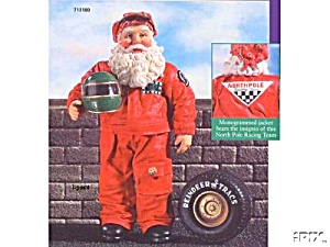 NORTH POLE 500 Racing NASCAR Indy Possible Dreams Clothtique SANTA #713180 Tire (Image1)