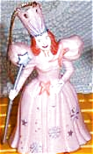 Glinda Good Witch Wizard Oz Hamilton Presents Pvc Figure Figurines Ornament MGM Loews (Image1)