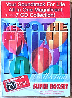 Keep the Faith 7 CD Boxset Your Spiritual Journey Through Music 60 Artists 7 Hour New (Image1)