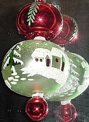 ALPINE VILLAGE 92-105-0 ORIGINAL COLOR Christopher Radko POLAND Ornament Ornie (Image1)