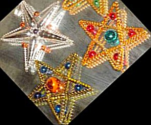 Twinkle Stars 1994 94-360-0 Christopher Radko Czech Republic Czechoslovakia Ornament