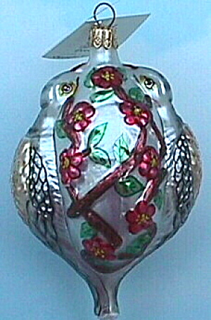 Radko 2 Two Turtle Doves Sp-4 Sp4 12 Twelve Days Of Christmas Ornament Ornie Ltd Edi