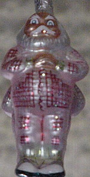 SLEEPYTIME SANTA 1992 91-052-1 Pink Union Suit Variation POLAND Chris Radko (Image1)