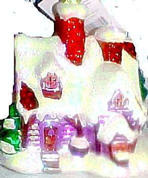 HOLIDAY HIDEAWAY 00-1259-0 4Oth BIRTHDAY LIMITED EDITION 2000 Radko HTF (Image1)
