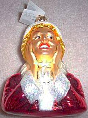 I Love Lucy Ethel's Christmas 1956 Special Radko Glass Ornament Poland Ethel Only NB (Image1)