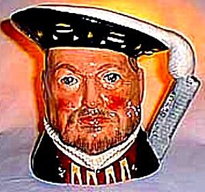 Henry VIII #D6648 '75 Mini Toby Character Jug (Image1)