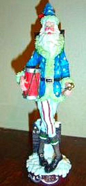 1870 American Santas Thru Through Decades Galleria Lucchese PENCIL SANTA #66927 Roman (Image1)