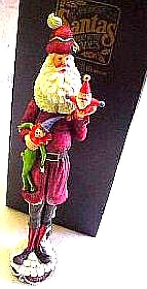 1850 American Santas Thru Through Decades Galleria Lucchese PENCIL SANTA #66925 Roman (Image1)