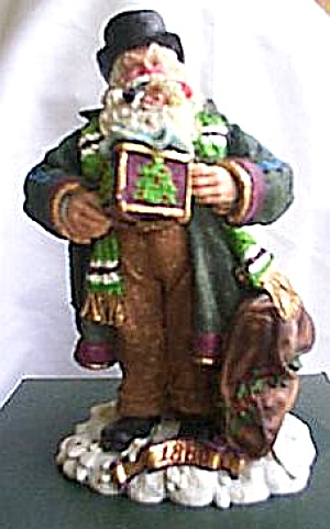 1880 American Santas Through The Decades Galleria Lucchese Cloth-like Cloth Like 1993