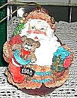 1840 American Santas Thru Decades Galleria Lucchese ROLY POLY ROLLY POLLY 66901 Roman (Image1)