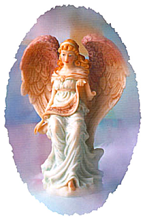 '95 Laurice Wisdom's Child Retired Seraphim Classics Angel Master Sculptor Gaylord Ho