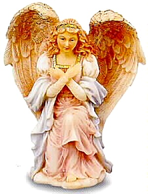 Felicia Adoring Maiden Retired Figurine Seraphim Classics® Angel Sculptor Gaylord Ho