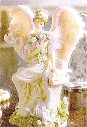 Amelia Eternal Bloom #78109 Retired Seraphim Classic® Angel Mastersculptor Gaylord Ho