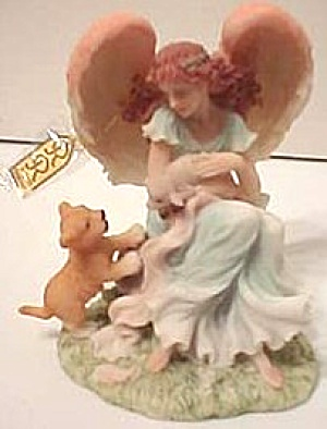 Josephine Celebration Of Peace Members Only Retired Seraphim Classic Figurine Roman