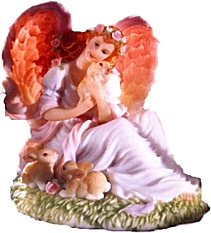 Eve Tender Heart Symbol Of Club Member Seraphim Classic Angel Figurine Roman