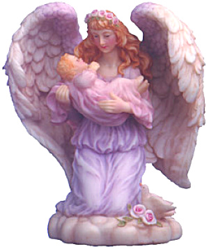 Constance Gentle Keeper Seraphim Classics® Catalog Only 7 Inch Angel Roman #74108gcc