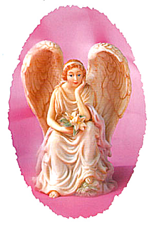 OPHELIA HEART SEEKER '96 RETIRED SERAPHIM CLASSICS ANGEL Roman #67089 Master Sculptor (Image1)