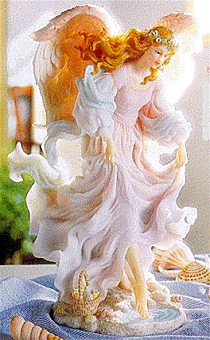 AVALON FREE SPIRIT 1 YEAR LIMITED EDITION Retired Seraphim Classic® Angel Sculptor HO (Image1)
