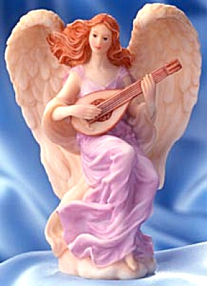 Lydia Winged Poet Retired Seraphim Classics® Angel Master Sculptor Gaylord Ho Roman