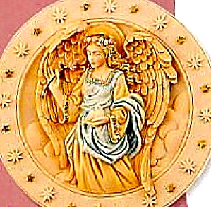 Seraphim Classics� #2 FLORA FLOWER OF HEAVEN RETIRED CLASSIC ANGEL PLATE Roman #20119 (Image1)