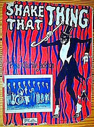 Black ShakeThat Thing Coon Dancer 1926 Papa Charlie Jackson Bernie Schultz Starmer 26 (Image1)
