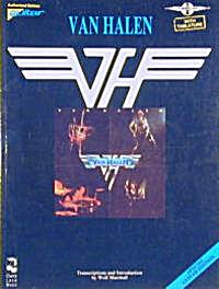 Van Halen Guitar Tab Songbook Play It Like It Is 1990 Wolf Marshall 11 Transcriptions (Image1)