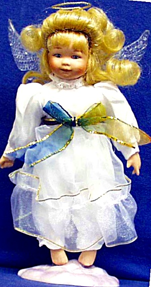 Gabriella Pocket Full Of Love Sandra Kuck Angel Doll Hamilton Collection Ashton Drake