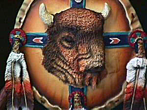 Shield of Mighty Warrior -PROTECTION OF BISON (Image1)