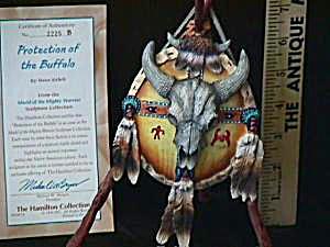 Shield of the Mighty Warrior PROTECTION OF BUFFALO Steve Kehrli '96 Native American (Image1)