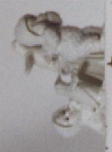 Snowbabies Dept.56 #76376 YOU CAN'T FIND ME Kristi Jensen Pierro Miniature Pewter D56 (Image1)