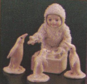 Snowbabies Dept. 56 # 76082 HELPFUL FRIENDS (Image1)