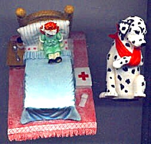 97 Spot Gets Boo-Boo DALMATION + Doll J.SMITH (Image1)