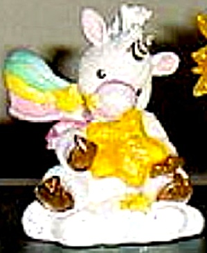 Starlight Starbright Unicorn Celebrate Today Enesco 153915 Holding Smal Star Hamilton