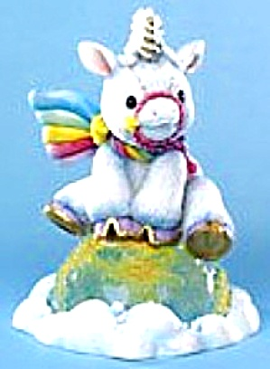 STARLIGHT STARBRIGHT Unicorn THE WORLD CAN BE YOURS #214205 Mint In Box w/Certificate (Image1)