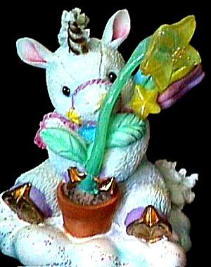 BELIEVE IN MIRACLES STARLIGHT STARBRIGHT Unicorn Enesco #153907 (Image1)