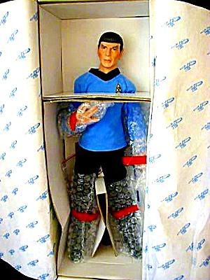 '88 Mr. Spock Star Trek Doll - E. Daub (Image1)