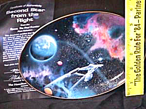 SECOND STAR FROM THE RIGHT StarTrek - Space, Final Frontier Artist D.Ward HAMILTON (Image1)