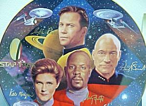 CAPTAINS TRIBUTE STAR TREK® : 30 THIRTY YEARS ANNIVERSARY SERIES HAMILTON T. TREADWAY (Image1)