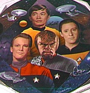 THE NAVIGATORS STAR TREK® 30 THIRTY YEARS SERIES - 7 T. Treadway HAMILTON COLLECTION (Image1)