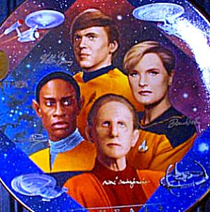 SECURITY OF STAR TREK® 30 Thirty YEARS ANNIVERSARY HAMILTON COLLECTION - TREADWAY MIB (Image1)