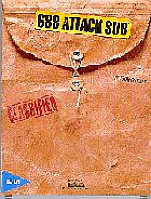 688 Attack Sub Electronic Arts Subsim Design John Ratcliff Paul Grace 88 IBM PC/XT/AT (Image1)