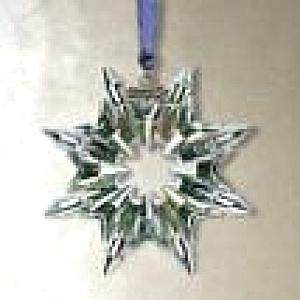 Swarovski #622498 2003 Annual Snowflake Christmas Ornament Stella di Natale Weihnacht (Image1)