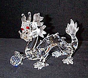 1997  DRAGON SWAROVSKI COLLECTORS CLUB Member Fabulous Creatures Series #DO1X971 (Image1)
