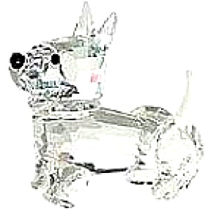 SCOTCH TERRIER PET CORNER Stocker ANIMALS 761NR000002 Frosted Tail (Image1)