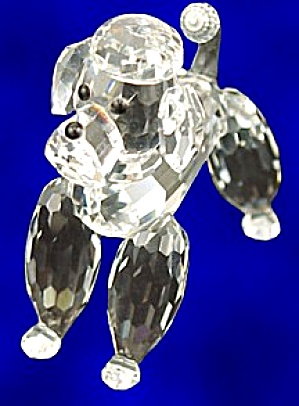 STANDING POODLE -CLEAR TAIL (Image1)