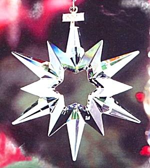 SWAROVSKI 1997 SCO-97 SCO97 STAR SNOWFLAKE ANNUAL ORNAMENT (Image1)